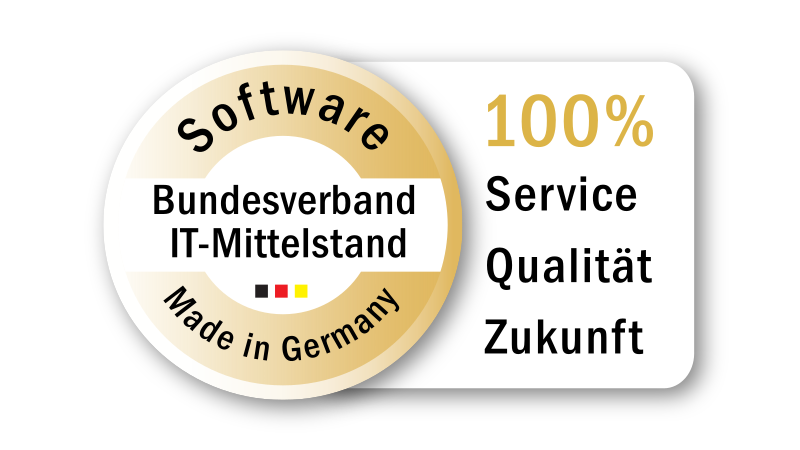 Siegel BitMi Software - Made in Germany